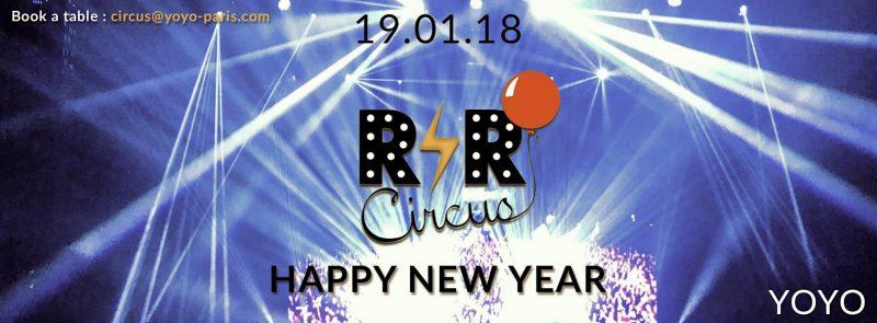R'n'R Circus ✮ vendredi 19 janvier ✮ YOYO ✮