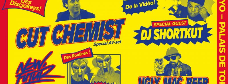 Cut Chemist (special AV set) à Paris! Special guest: DJ Shortkut