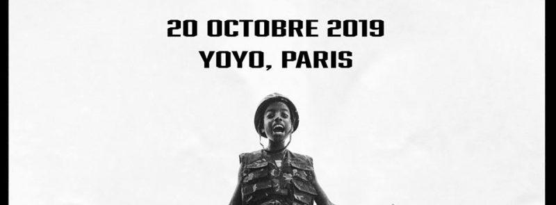Little Simz – Yoyo Palais de Tokyo – 20 Octobre 2019